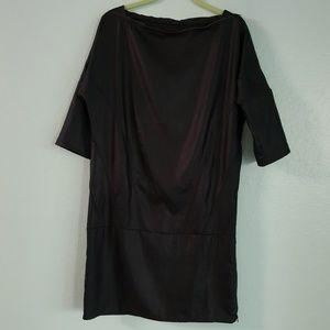 IKKS BLAVK LABEL Tunic Dress Black size MEDIUM